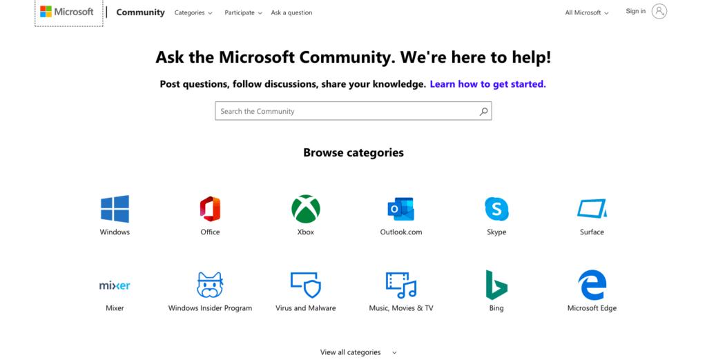 Obtenha ajuda no Windows 10