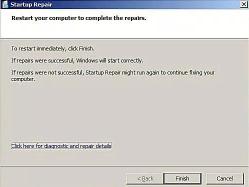 Reinicie o seu computador