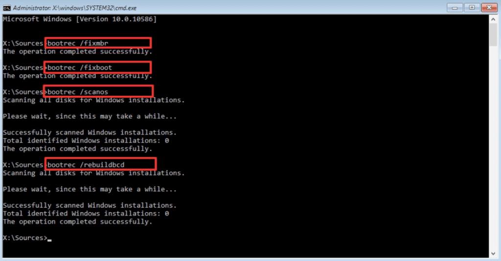 Como reparar o Windows 7 usando o prompt de comando