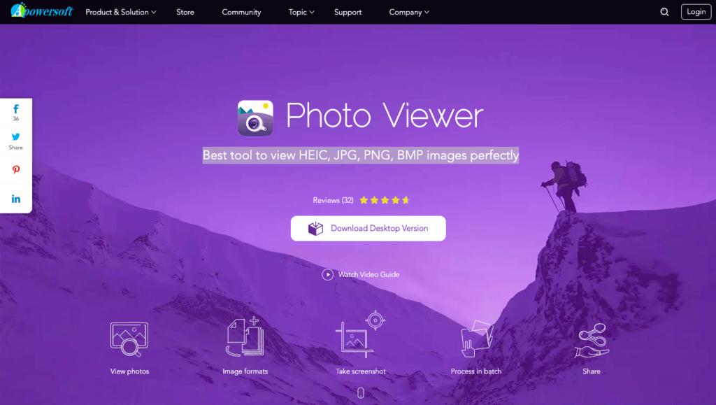 Apowersoft- Melhor visualizador de fotos