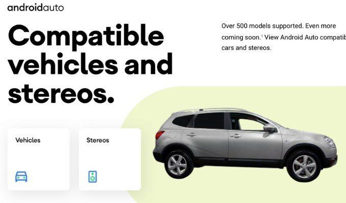 carros compatíveis com android auto