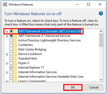Erro 0x800f081f arquivos de origem não podem ser encontrados