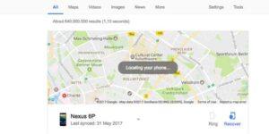 Rastrear e localizar seu celular Android perdido