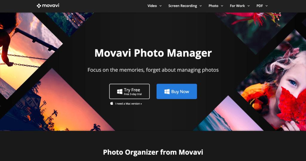 Movavi Photo Manager - Melhor visualizador de fotos para Windows 10