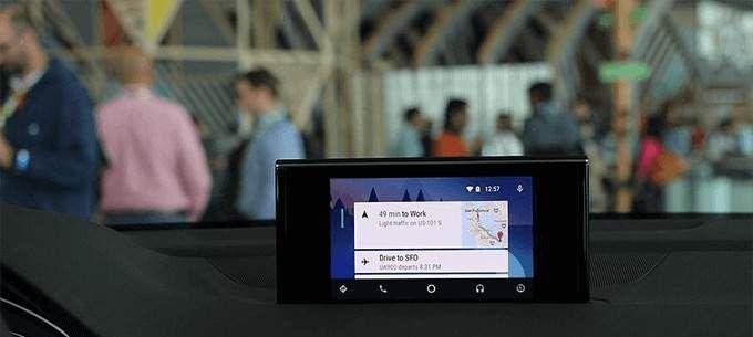 como funciona o Android Auto