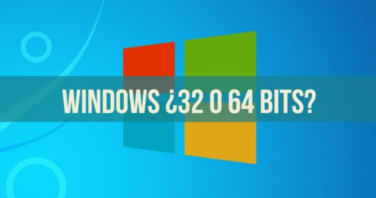 como saber se o windows é 32 ou 64