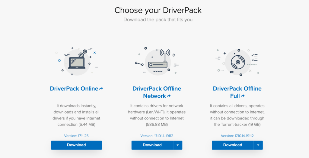 driverpack solution download 2020