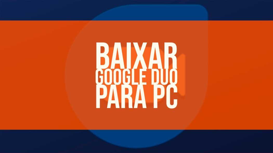 google duo para pc
