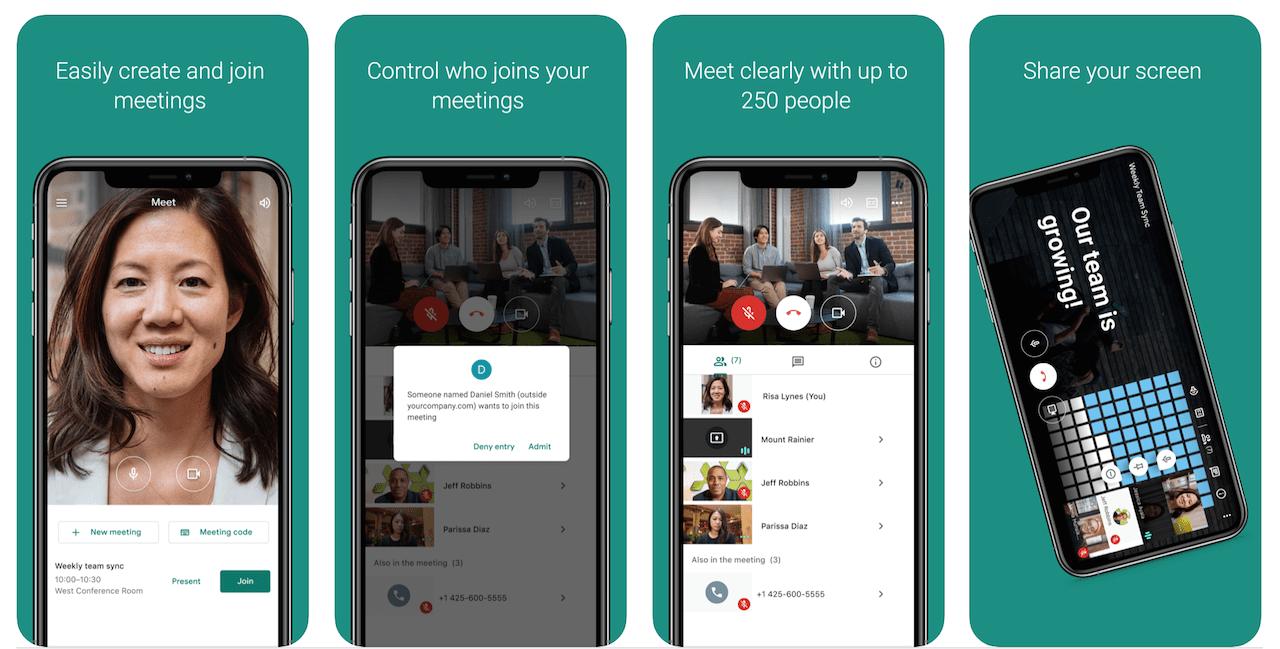 Faça download do Google Meet para PC