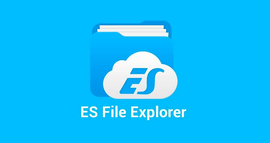 como usar o es file explorer no pc