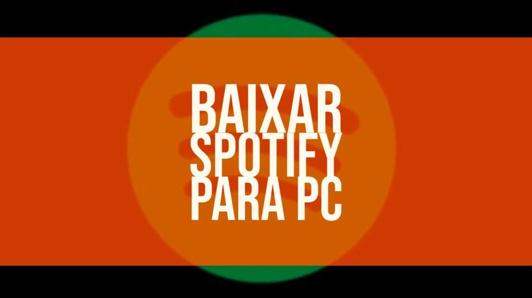 spotify para pc